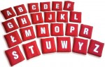 Zestaw woreczków - alfabet + numerki