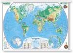 Świat - mapa fizyczna (BP)