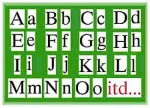Alfabet drukowany