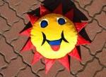 Poducha słoneczko