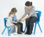 Krzesło jednoczęściowe z polipropylenu Titan 5