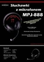 Słuchawki z mikrofonem MPJ-888