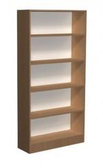 Regał biblioteczny proste półki - C