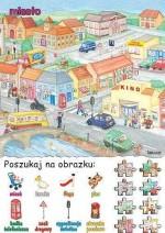 Poszukaj na obrazku - miasto