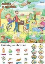 Poszukaj na obrazku - rodzina w ogrodzie