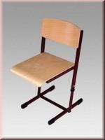 Krzesło Reks z regulowaną wysokością