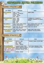 Język polski - ortografia - plansze dydaktyczne